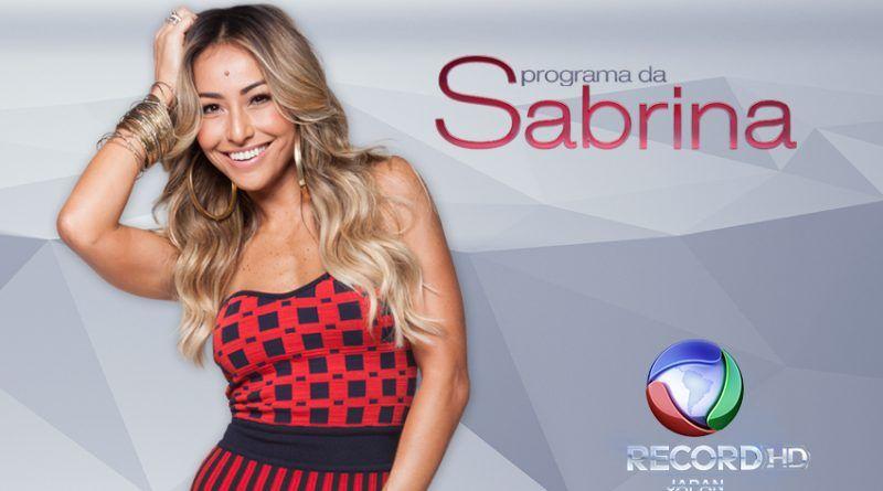 Inscrições Programa da Sabrina 2019